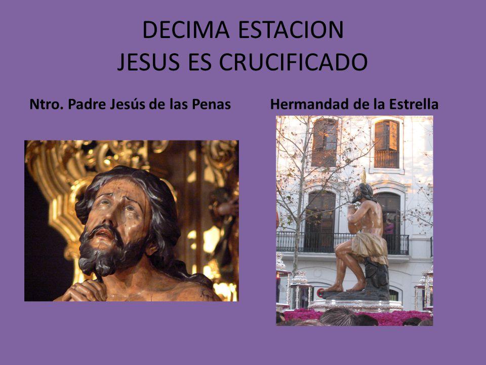 NOVENA ESTACION JESUS ENCUENTRA A LAS MUJERES DE JERUSALEN Ntro.Padre Jesús del Gran Poder Hermandad del Gran Poder