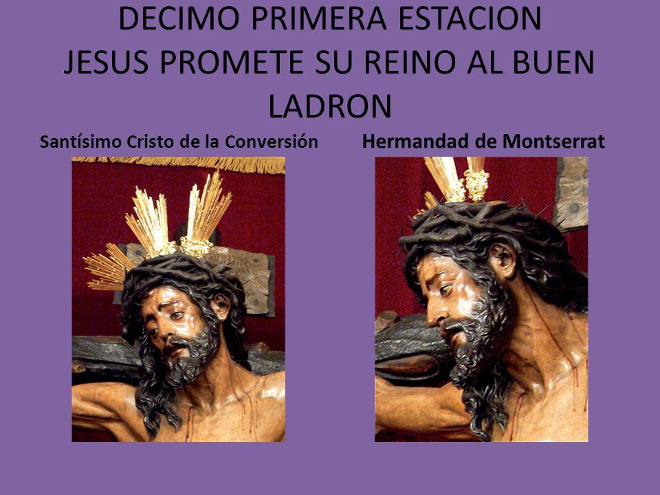 DECIMA ESTACION JESUS ES CRUCIFICADO Ntro. Padre Jesús de las Penas Hermandad de la Estrella