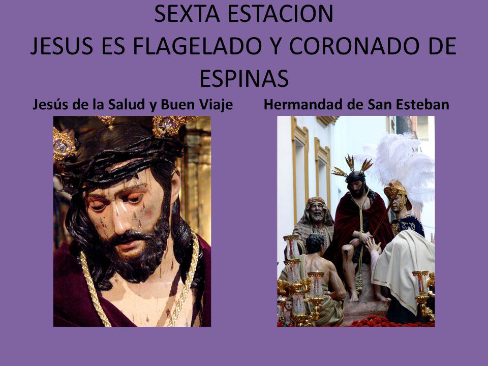QUINTA ESTACION JESUS ES JUZGADO POR PILATOS Jesús Cautivo ante Pilatos Hermandad de Torreblanca