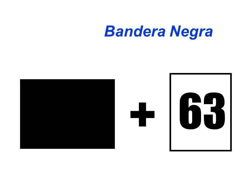 63 + Bandera Negra