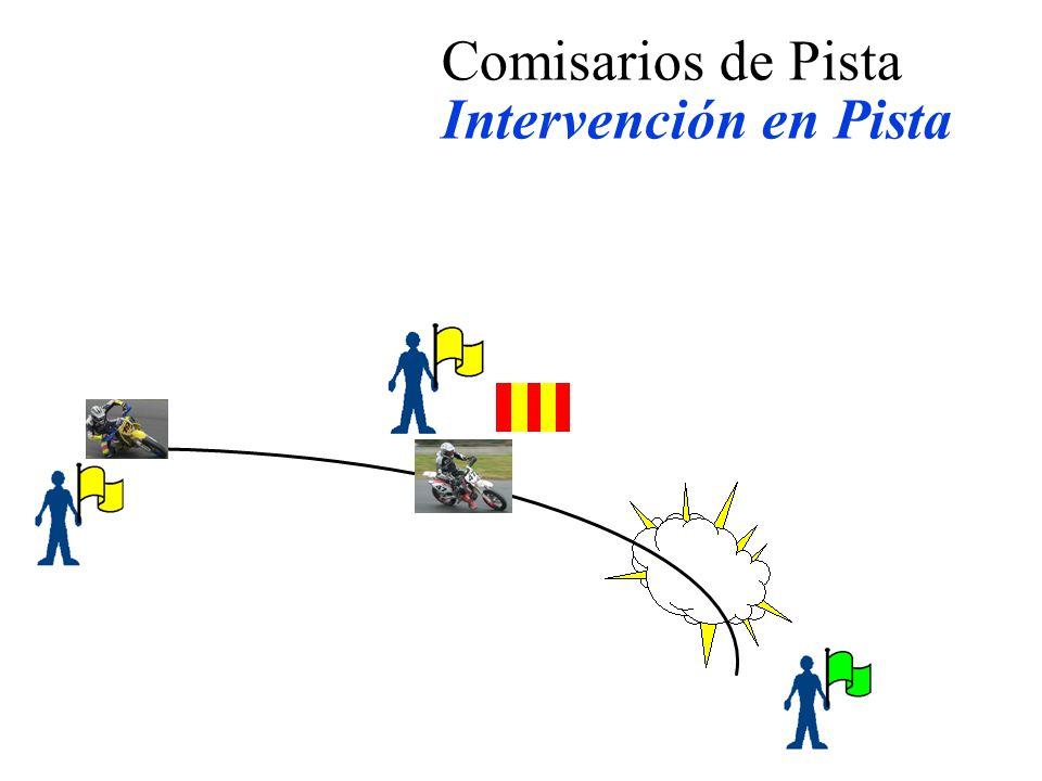 Comisarios de Pista Intervención en Pista