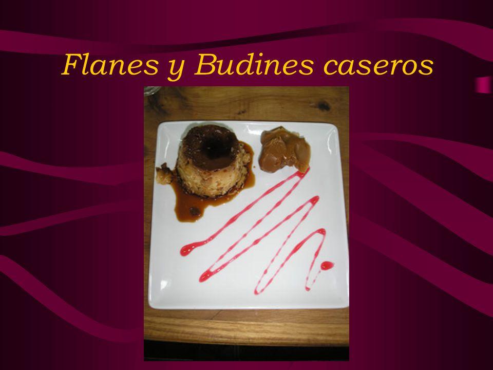 Flanes y Budines caseros