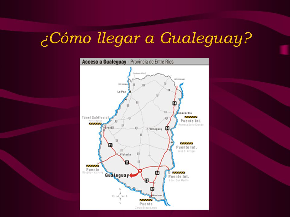 ¿Cómo llegar a Gualeguay