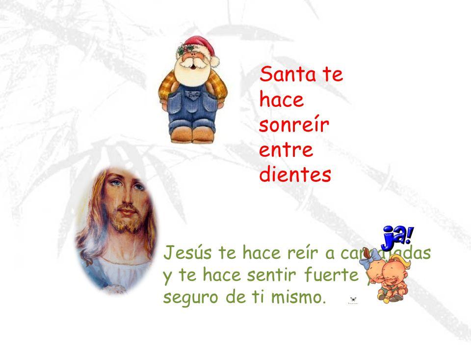 Santa te dice que no debes llorar… Jesús te dice dame tus preocupaciones y yo me preocuparé por Ti.