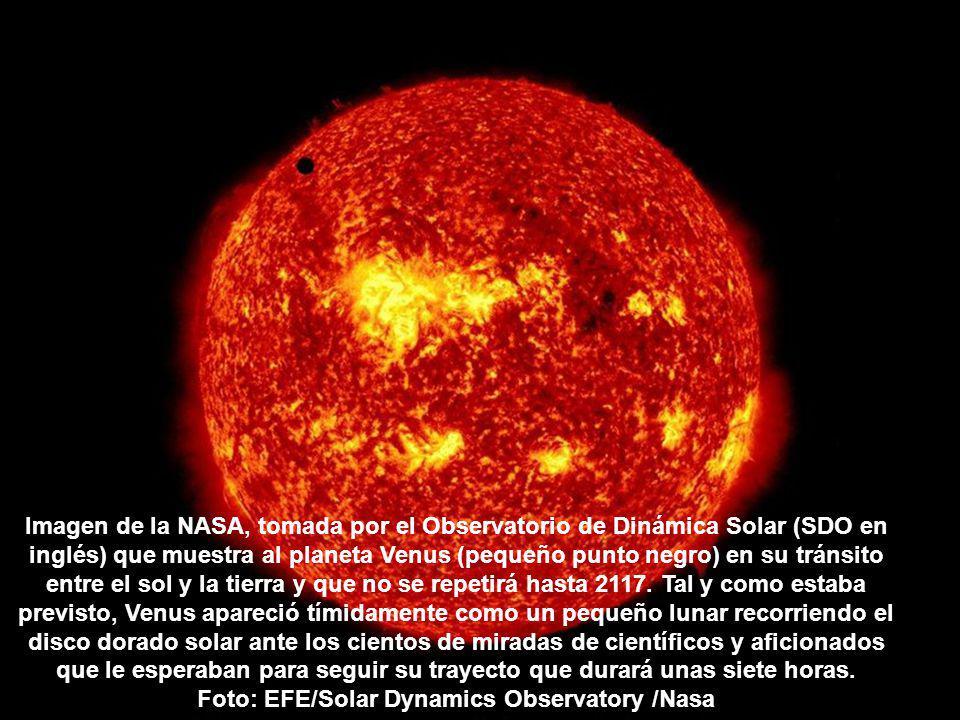 Venus puede verse como un pequeño lunar sobre la parte alta del sol en el cielo del amanecer romano, en un fenómeno que no volverá a darse hasta dentro de 105 años.
