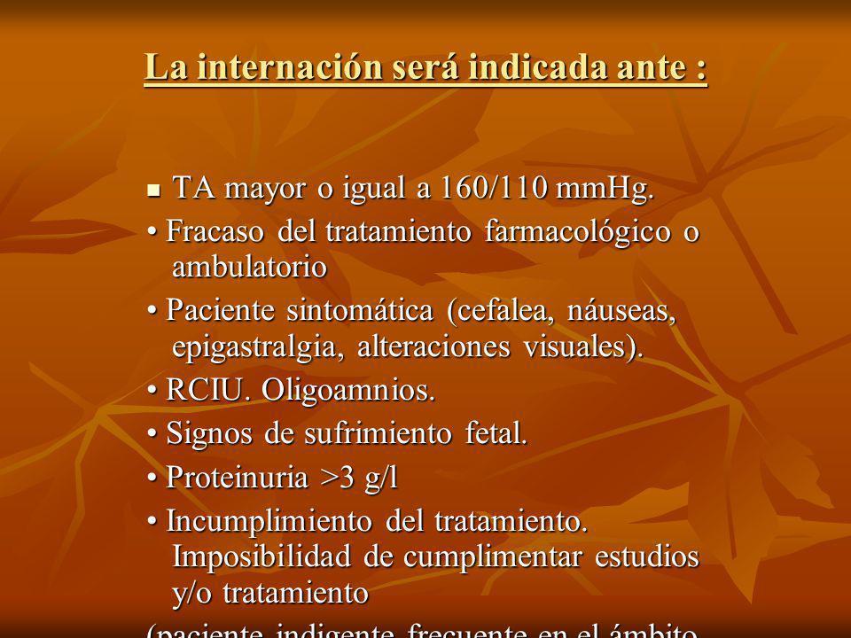 CONDUCTA Ante la presencia de síntomas de eclampsia inminente, y preeclampsia grave se debe administrar SO4Mg durante el embarazo, parto, o puerperio: administrar SO4Mg durante el embarazo, parto, o puerperio: Forma de administración: bolo IV lento de 4 a 6 gr diluido en 10 cc de dextrosa al 5% y continuar con un goteo de 20 gr en 500 cc de dextrosa al 5% a 7 gotas/min o 21 microg/min.