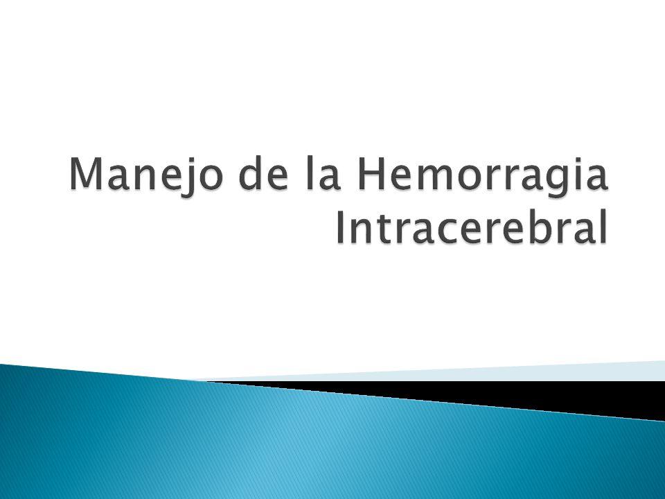 Ablandamiento de heces Para evitar aumentos de la presión intracraneana Resangrado del aneurisma Tratamiento de emergencia del aneurisma.