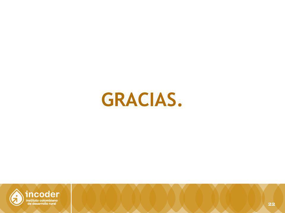 GRACIAS. 22