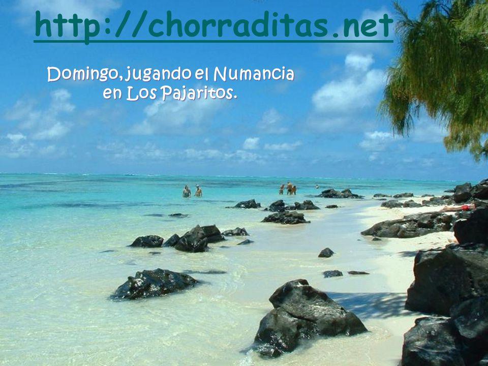 Domingo, jugando el Numancia en Los Pajaritos. http://chorraditas.net