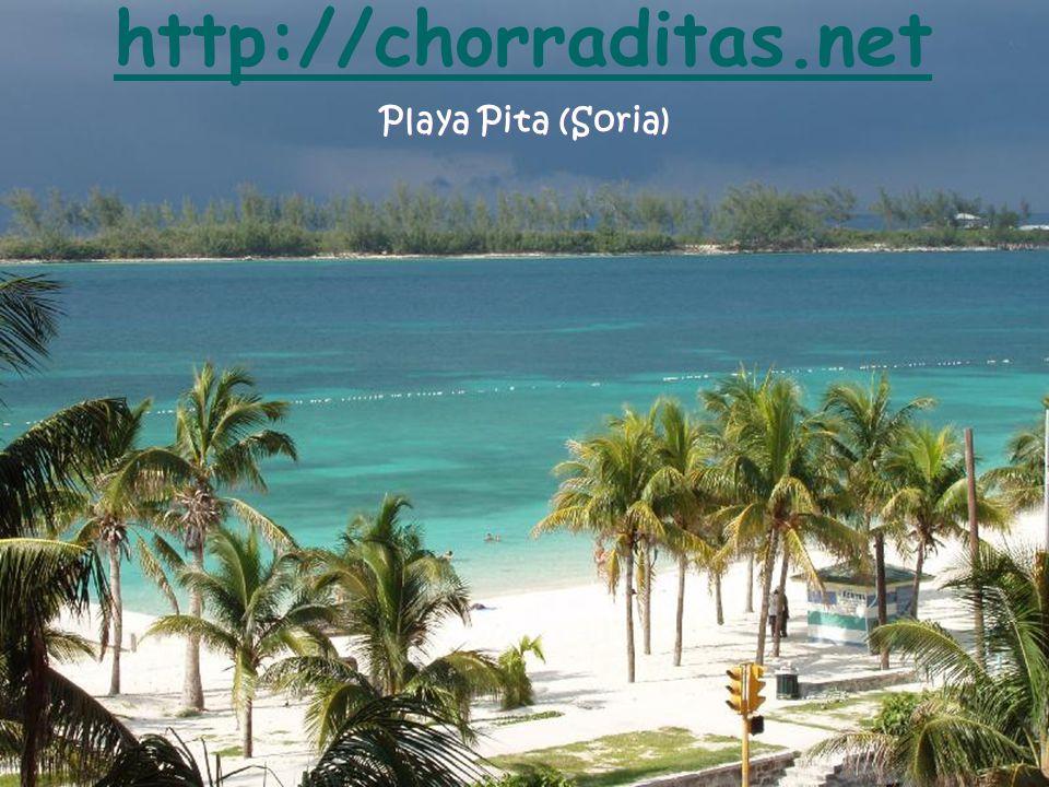 Playa Pita (Soria) http://chorraditas.net