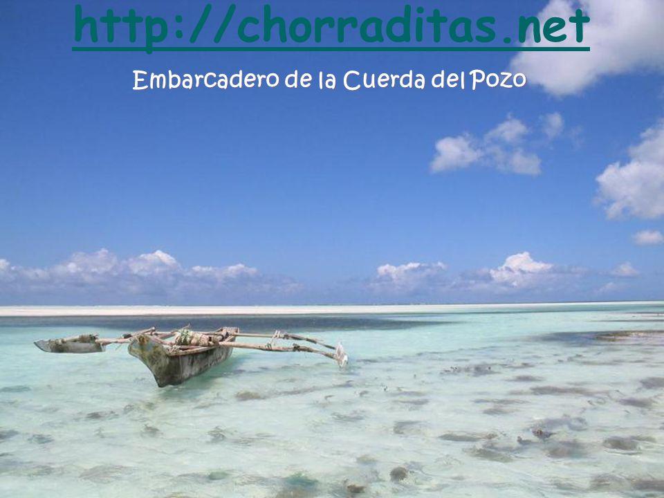 Embarcadero de la Cuerda del Pozo http://chorraditas.net
