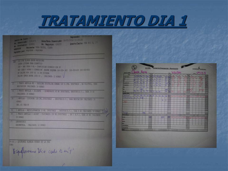 TRATAMIENTO DIA 1