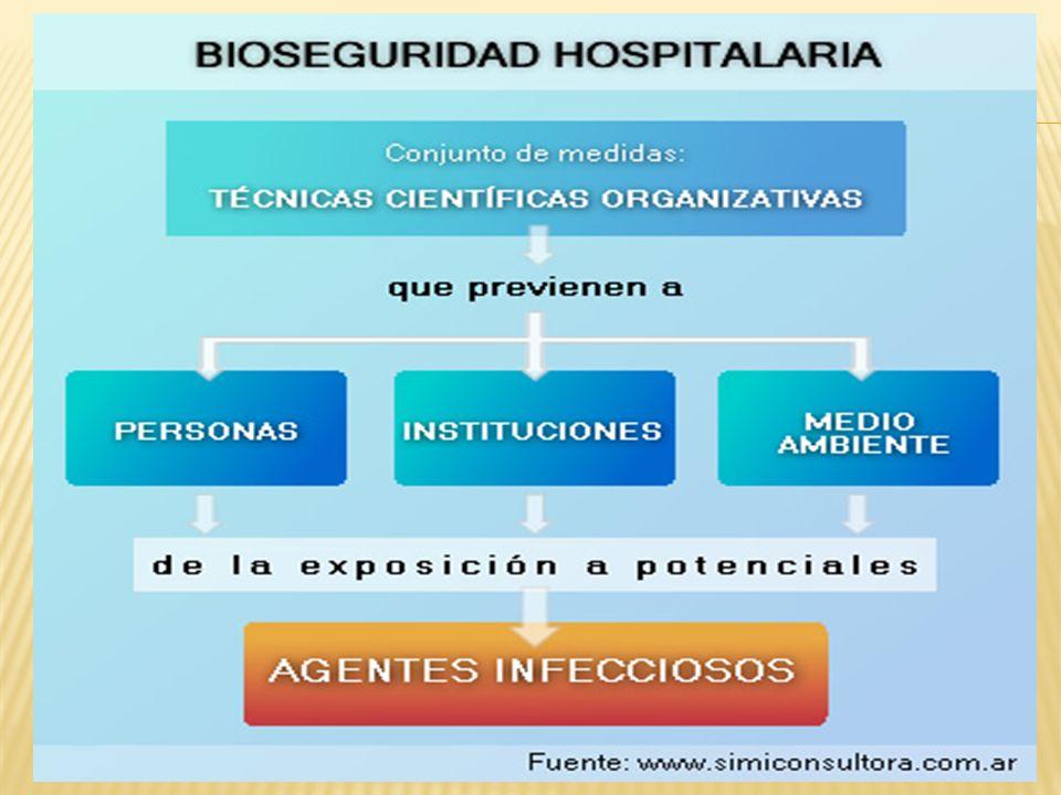 La Bioseguridad tiene tres pilares que sustentan y dan origen a las Precauciones Universales Universalidad Barreras de protección Medidas de eliminación