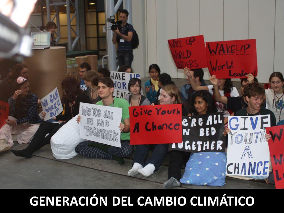 GENERACIÓN DEL CAMBIO CLIMÁTICO