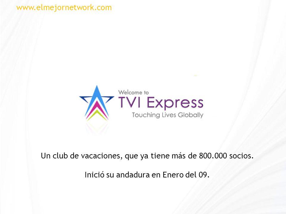 Un club de vacaciones, que ya tiene más de 800.000 socios. Inició su andadura en Enero del 09. www.elmejornetwork.com