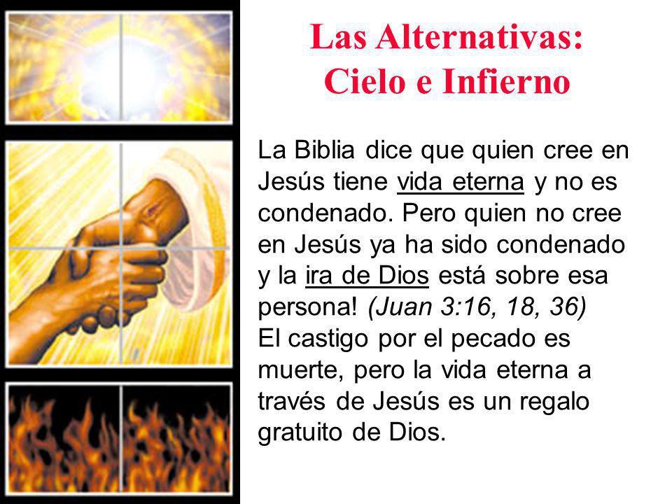 Las Alternativas: Cielo e Infierno ¿Qué elegirás.