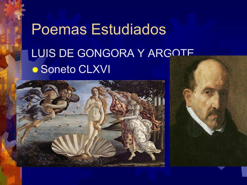 POEMAS ESTUDIADOS GARCILASO DE LA VEGA Soneto XXIII