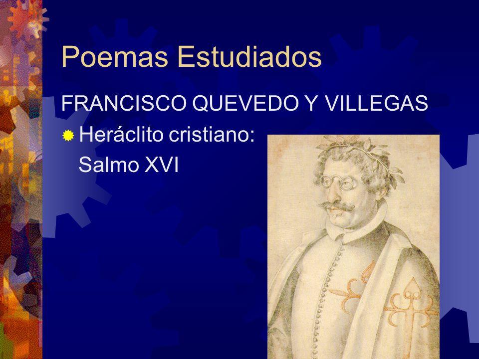 Poemas Estudiados LUIS DE GONGORA Y ARGOTE Soneto CLXVI