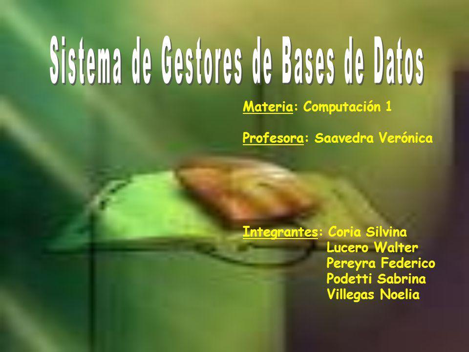 INTRODUCCIÓN Un sistema de gestión de bases de datos se puede definir como una colección de datos interrelacionados y un conjunto de programas para acceder a esos datos.