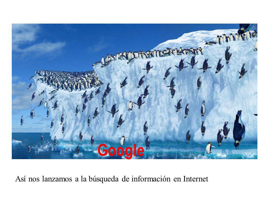 Google Así nos lanzamos a la búsqueda de información en Internet