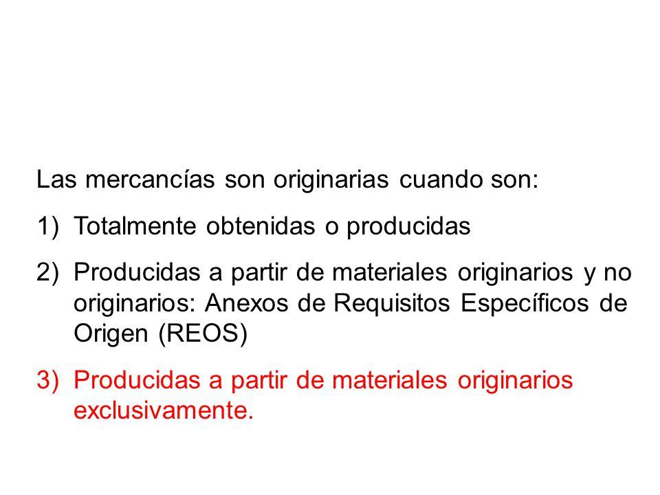 Requisitos Específicos de Origen S.A.DescripciónREO 29.36.99Los demás carbonatos Debe ser fruto de una reacción química llevada a cabo en una de las P