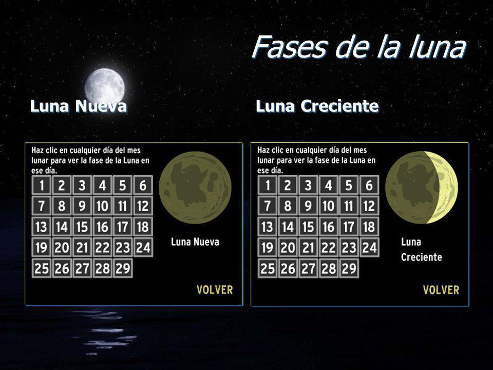 Luna Nueva Luna Creciente