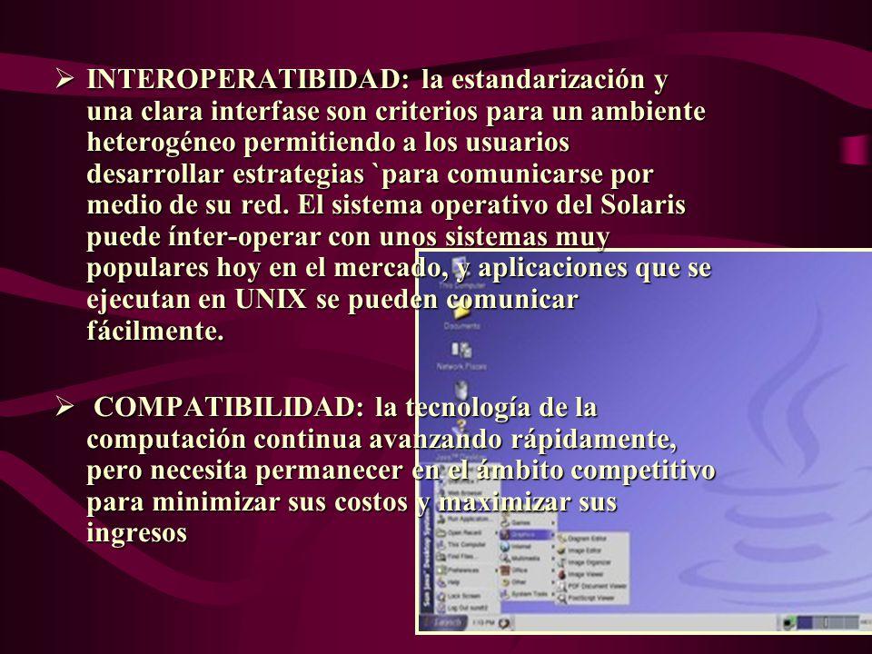 CARACTERÍSTICAS PORTABILIDAD: El software conformado por una aplicación de interfases binaria ejecuta con una contracción envuelta el software en todos los sistemas vendidos con la misma arquitectura del microprocesador.