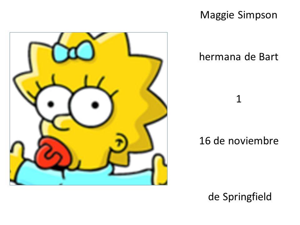 Jaqueline Bouvier abuela de Bart 80 1 de agosto de Springfield