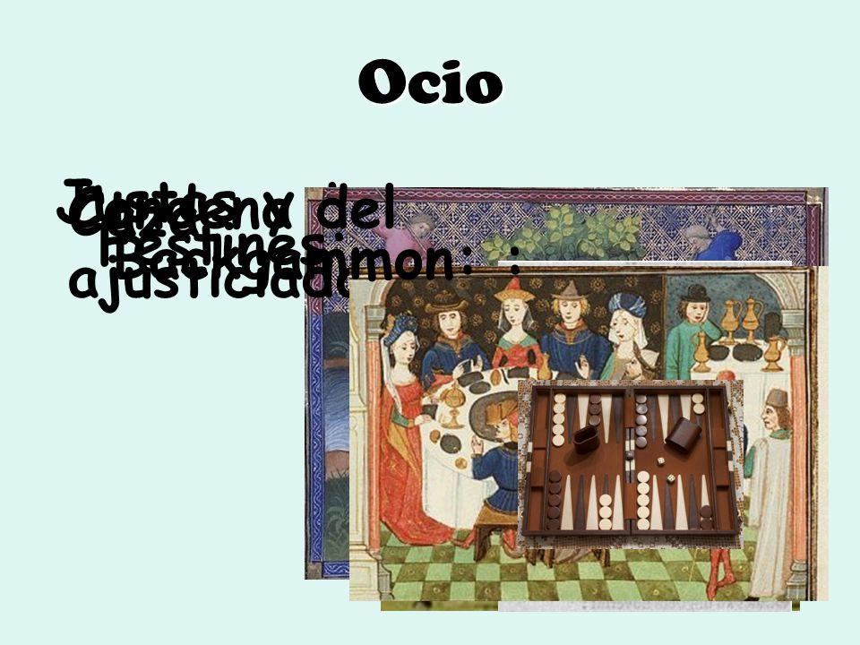 Ocio Justas y torneos Caza Condena del ajusticiado Festines: Backgammon: :