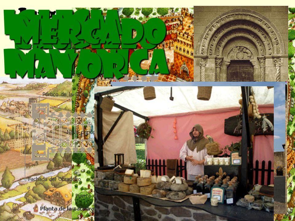 Lugares donde transcurre la historia Feudo Castillo Iglesia románica PLAza mayor mercado