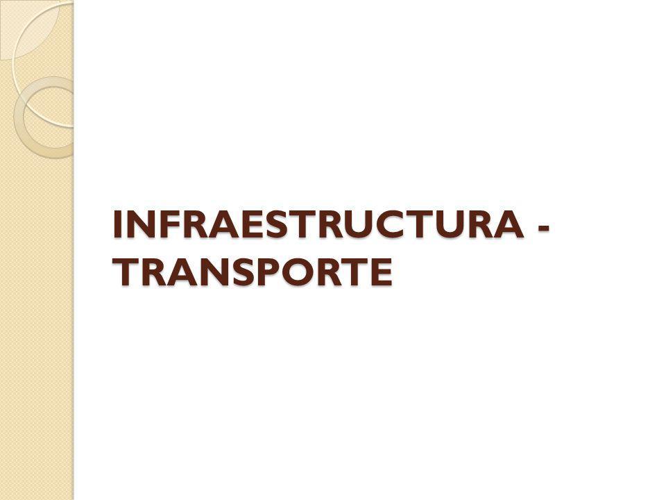 INFRAESTRUCTURA - TRANSPORTE