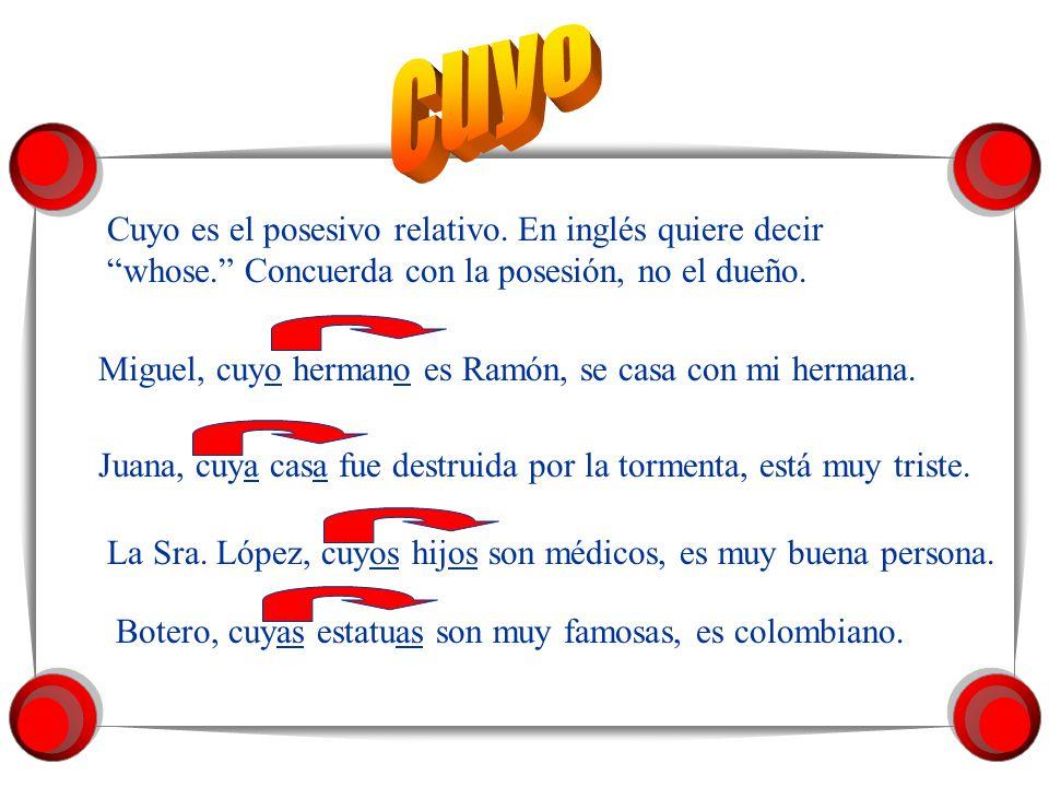 Se puede usar lo cual en vez de lo que en una frase en una cláusula separada por una coma (,) de la primera cláusula.