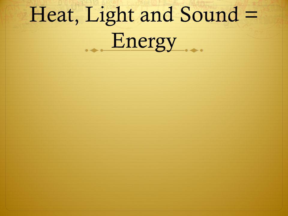 El sonido El sonido: como el calor y la luz, el sonido en una forma de energía que viaja mediante ondas.