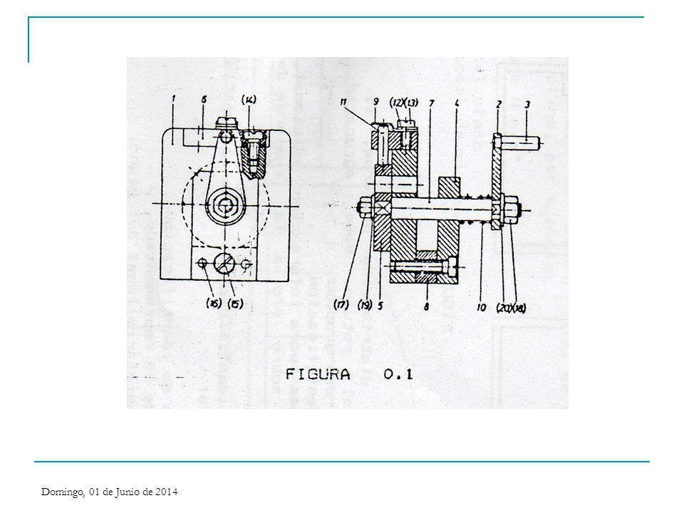 En la figura siguiente, hemos simplificado la representación del tornillo y de la arandela.