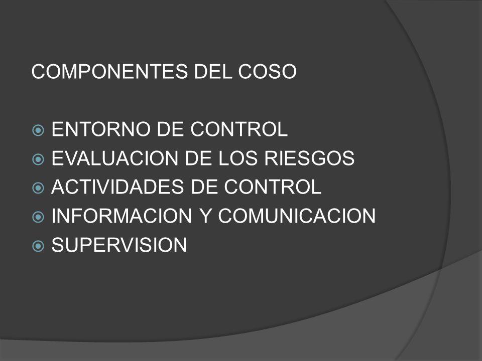 Preguntas de discusión: Que diferencias se pueden observar entre COSO y COBIT?
