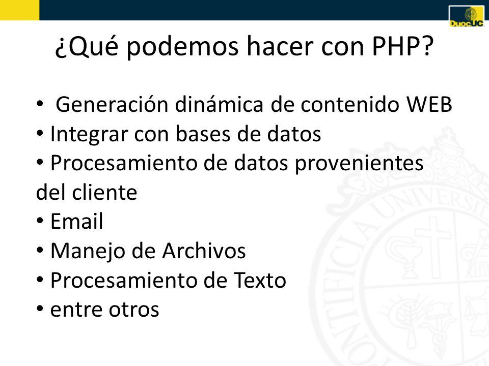 Síntesis Hemos aprendido los fundamentos del lenguaje de programación PHP Lo anterior define la base de la estructuración de un script básico