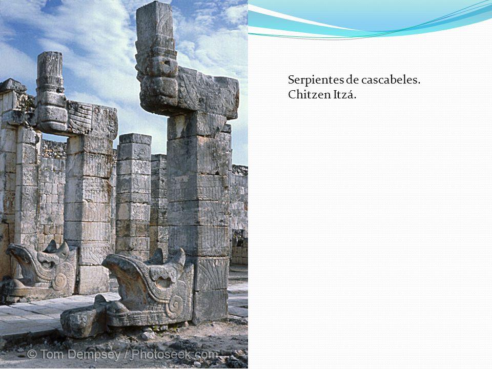 Serpientes de cascabeles. Chitzen Itzá.