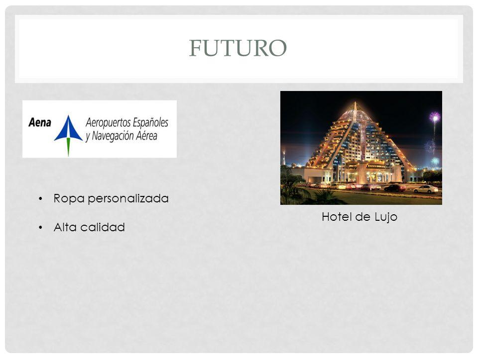 FUTURO Hotel de Lujo Ropa personalizada Alta calidad