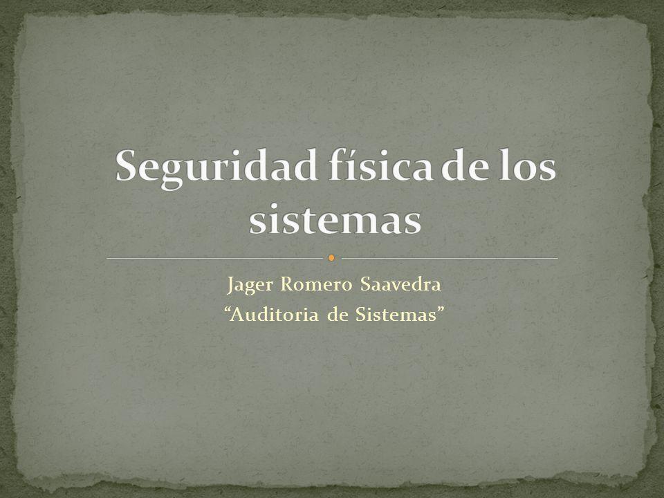 Jager Romero Saavedra Auditoria de Sistemas