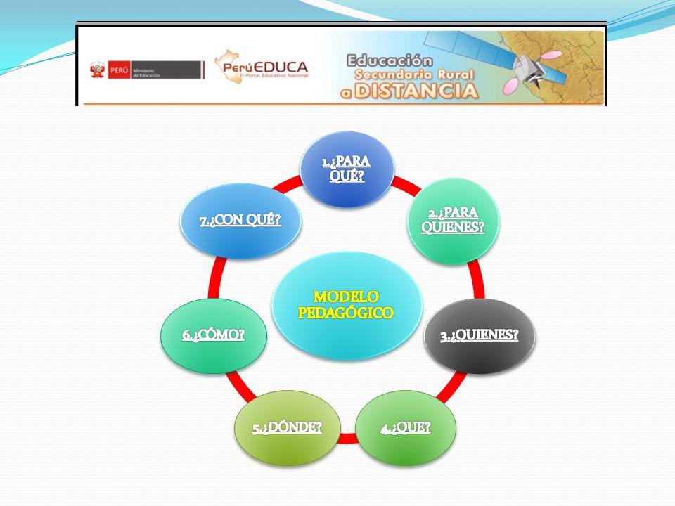 Fortalecer el servicio de la Educación Secundaria Rural a Distancia en la provincia de Huaral, en el marco de una política educativa intercultural y promotora del desarrollo individual y social.