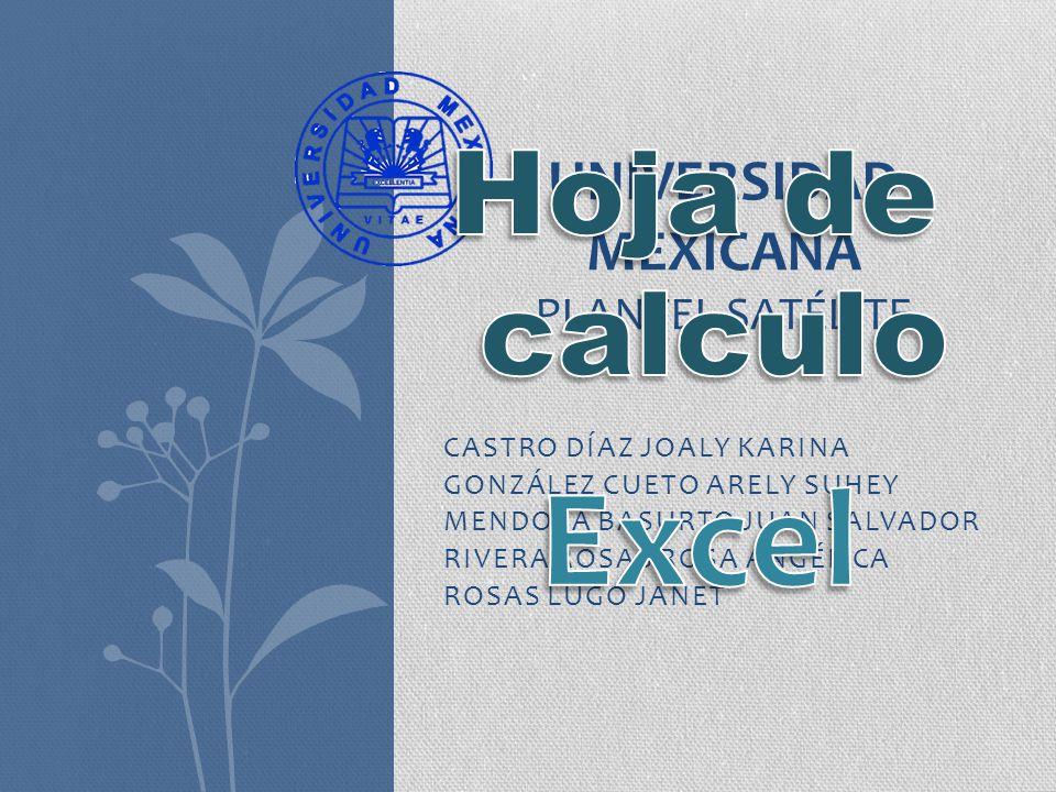 ¿Que es Excel.Microsoft Excel es una aplicación para manejar hojas de cálculo.