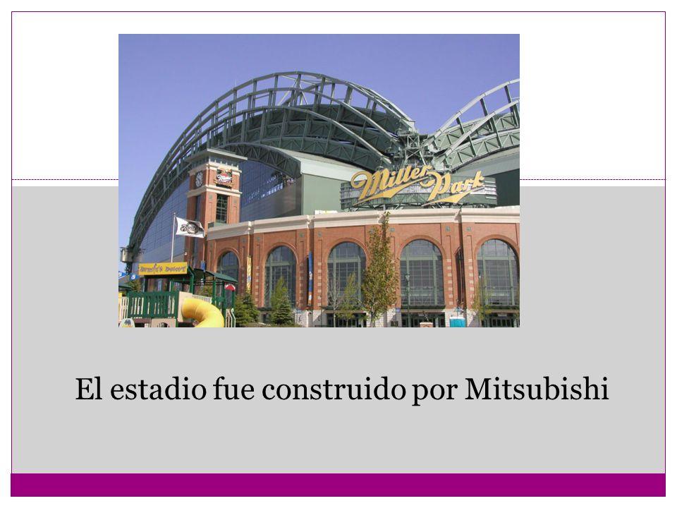El estadio fue construido por Mitsubishi