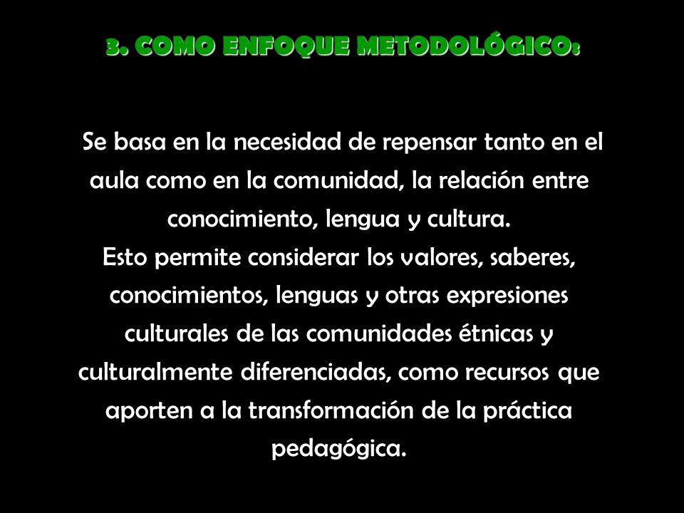 D Diseñar políticas educativas orientadas hacia un abordaje alternativo de la diversidad sociocultural y sociolingüística en el sistema educativo.