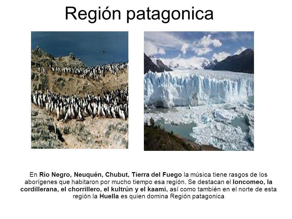 Región del litoral En Misiones se funde lo güaraní con lo brasileño, aunque también la inmigración europea dejo sus huellas, trayendo el Schotis, convirtiéndose junto a la galopa y la güaranía en la principal ritmo de esta provincia.