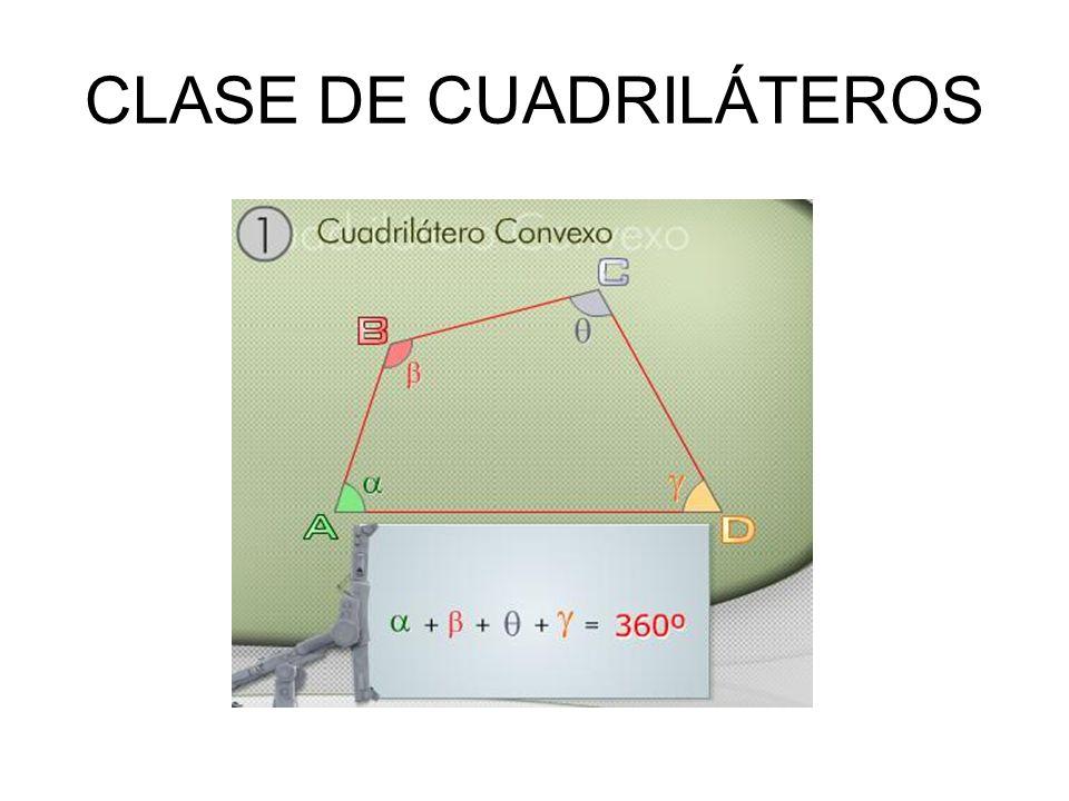 CLASE DE CUADRILÁTEROS