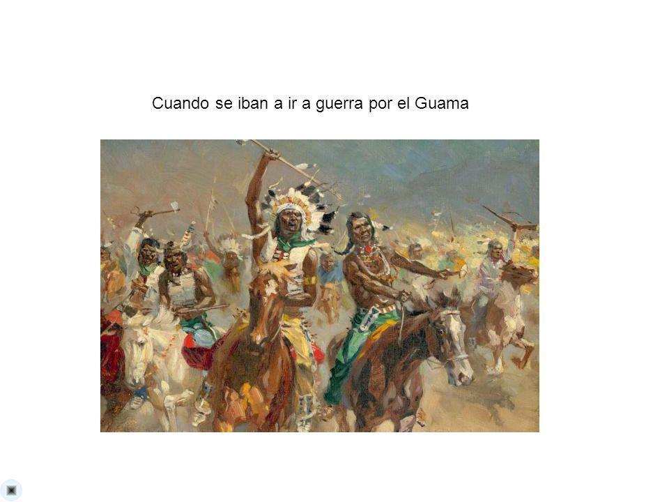 Cuando se iban a ir a guerra por el Guama