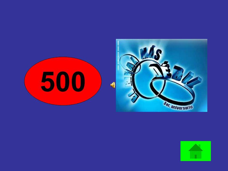 500 400 300 200 100 50 400 TOTAL Banca Correcto