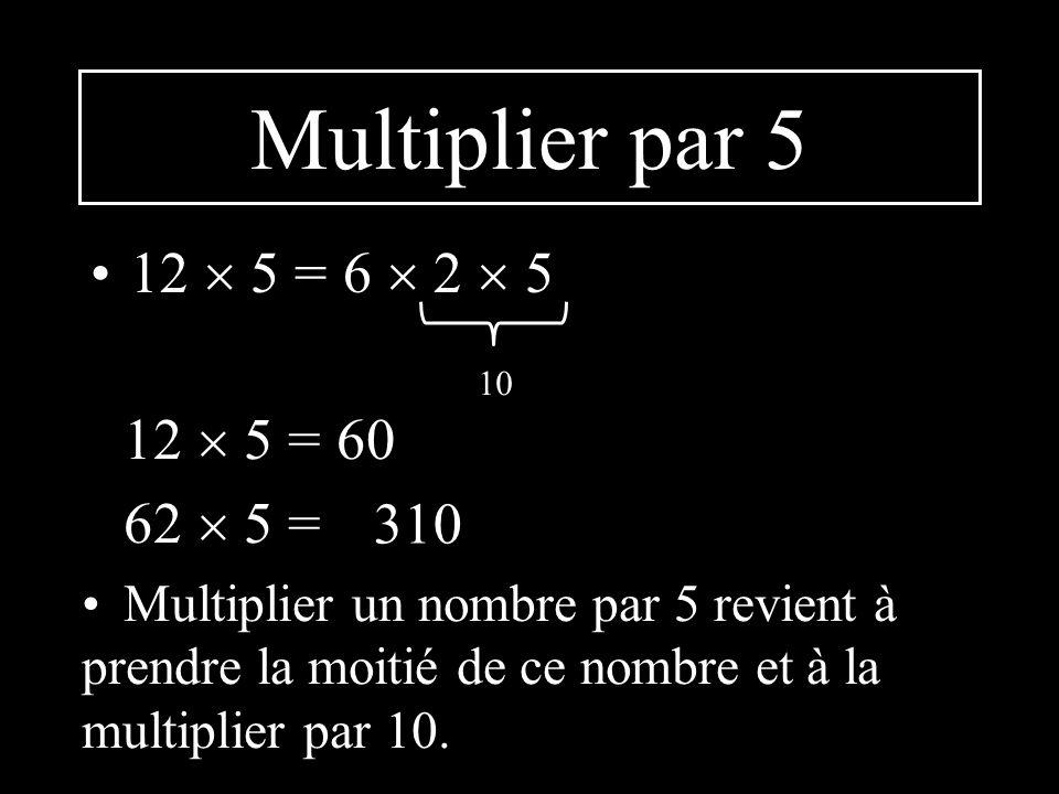 Multiplier par 0,25 12 0,25 = 3 4 0,25 1 12 0,25 = 3 220 0,25 = Multiplier un nombre par 0,25 revient à prendre le quart de ce nombre.