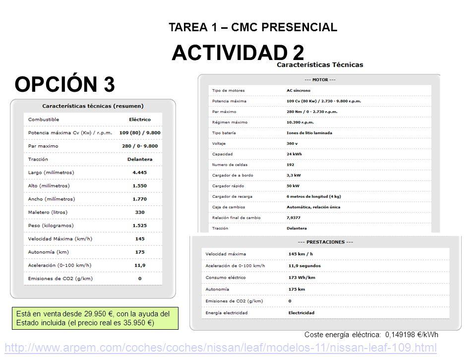 WEBGRAFÍA http://blogs.elpais.com/coche-electrico/ http://www.ventacocheselectricos.es/modelos.html https://www.iberdrola.es/webibd/corporativa/iberdrola?IDPAG=ESWEBCLIHOGASEINFLEGELE http://www.endesaonline.com/ES/Hogares/teguia/asesoramientotarifas/tarifas_electricas/tarifas/index.as phttp://www.endesaonline.com/ES/Hogares/teguia/asesoramientotarifas/tarifas_electricas/tarifas/index.as p http://geoportal.mityc.es/hidrocarburos/eess/