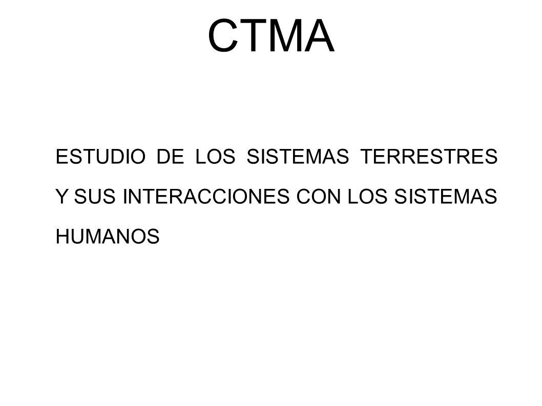CTMA HUMANIDAD Y NATURALEZA DEPENDE DE MÚLTIPLES FACTORES: - Desarrollo de nuevas tecnologías.